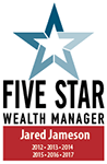 Five Star Wealth Manager - Jared Jameson